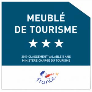 meublé de tourisme 3 étoiles_2019